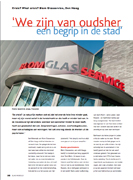 Cover glas in beeld