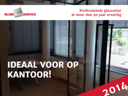 Post_Blom_Veiligheidsglas gehard_Blom Glasservice_Projecten