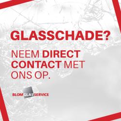 Glasschade?